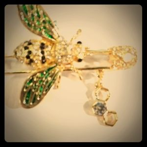 Bee Insect Pin Broach